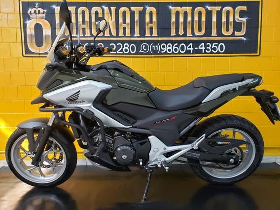 Honda Nc 750 X - Verde - 2018 - Km 19.000 - 1197740-1073