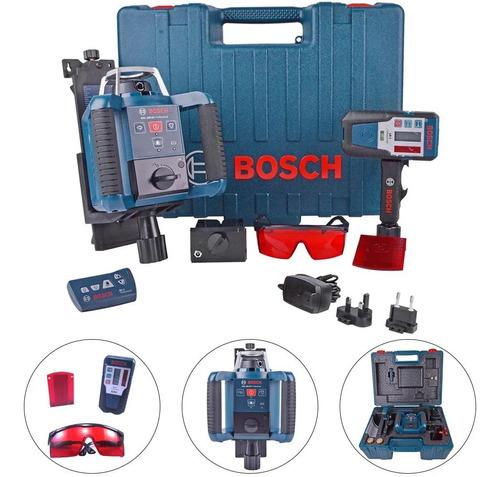 Imagem 1 de 8 de Nível À Laser Rotativo Grl 300hv Receptor+suporte Bosch