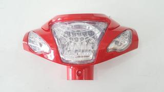 Carenagem Farol Bicicleta Eletrica (vermelha)