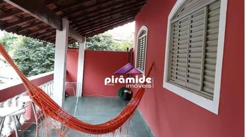 Casa Com 4 Dormitórios À Venda, 287 M² Por R$ 483.000,00 - Parque Interlagos - São José Dos Campos/sp - Ca4678