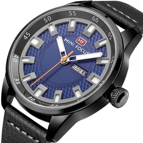 Relógio Masculino Importado Mini Focus Esporte Fino