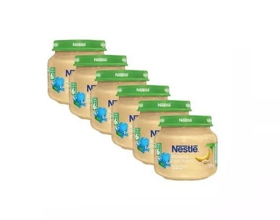 Papinha Nestlé Sobremesa Banana Com Aveia 18 Potes Atacado