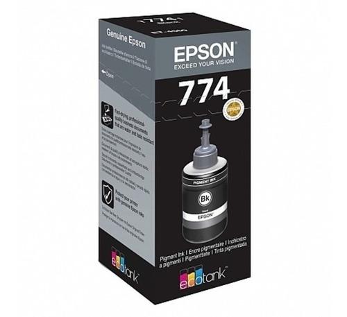 Tinta Epson T7741 T774 774 Para M105 M205 Original Negra