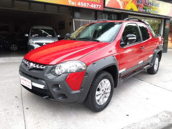 Fiat Strada Adventure 1.6 16v Locker Año 2015