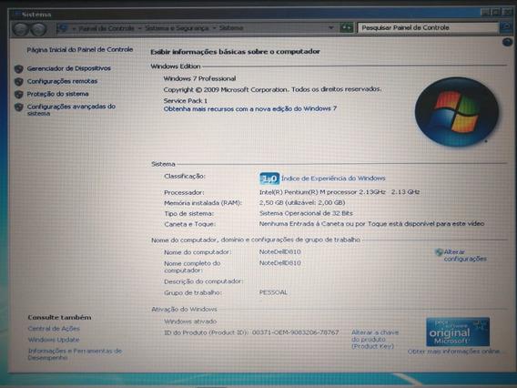Notebook Dell Latitude D810