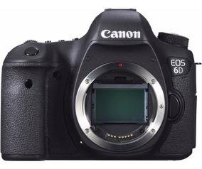 Canon Slr Eos 6d 20.2mp - Sensor Full Frame (corpo) Nova !
