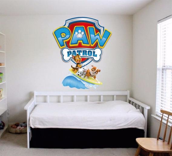 Personalizado Paw Patrol Skye Perro Pared Pegatina de vinilo habitación niños Niños Star