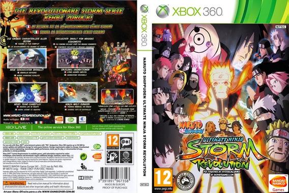 Naruto Storm Revolution - Mídia Digital Xbox 360