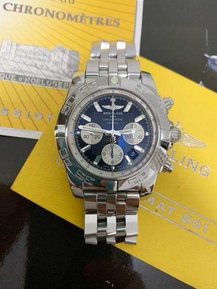 Relógio Breitling Chronomat 44 B01 , Todo Aço