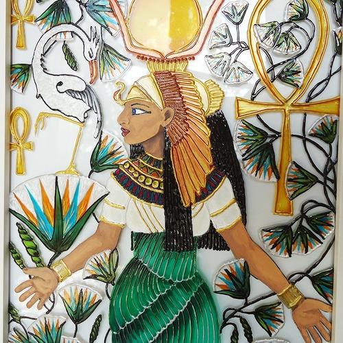 Pintura Vitral Deusa Egípcia Ísis