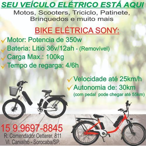 Bike Elétrica Com Parcelas Apartir De: