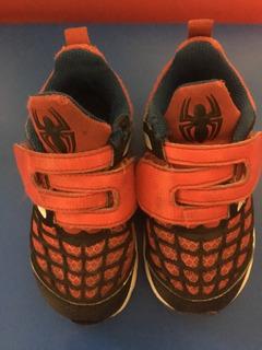 Tenis adidas Spiderman Niño 7us 13mex