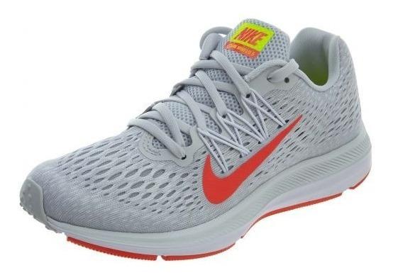 Zapatillas Nike Air Zoom Winflo 5 Mujer Running Aa7414-005