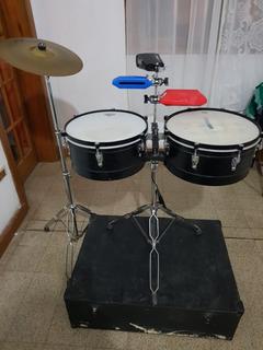 Timbaleta Completa Parker Percusión Lp