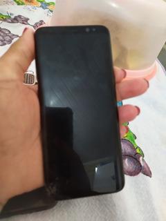 Celular Samsung S8 Com Tela E Display Quebrado