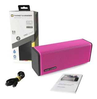 Parlante Inalambrico Bluetooth Thonet & Vander Modelo Nuevo