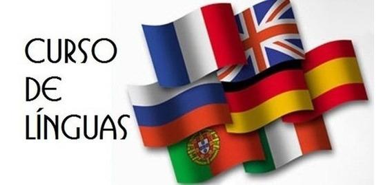 Cursos Inglês Espanhol Francês Italiano Alemão