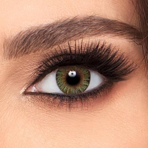 Pupilentes Colores Naturales Frenshlook + Estuche Y Liquido