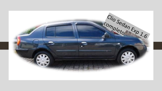Renault Clio Sedan Expression 2005 1.6 Flex Completo
