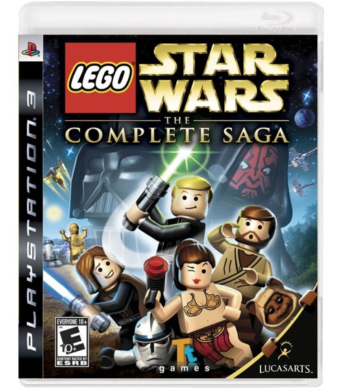 Lego Star Wars The Complete Saga (mídia Física) - Ps3