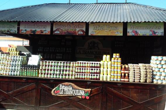Cabaña Stand Madera Techo 4 Aguas Incluye Flete Y Armado