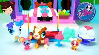 Littlest Pet Shop Set Heladería