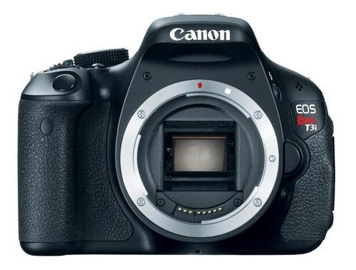 Canon EOS Rebel T3i DSLR cor  preto