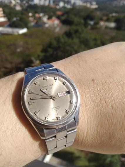 Relógio Especial Seiko 6106-8000 Calibre Raro Feito No Japão