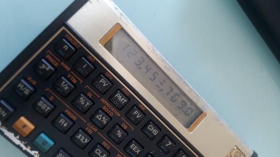 Calculadora Financeira Hp 12c Gold (leia O Anúncio)