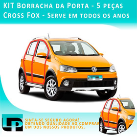 Kit Borracha Porta Cross Fox - 5 Peças