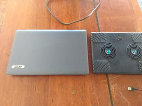Notebook Acer (acompanha Dois Coolers Externos)