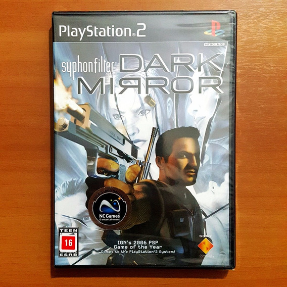 Syphon Filter Dark Mirror Ps2 Original ( Novo )