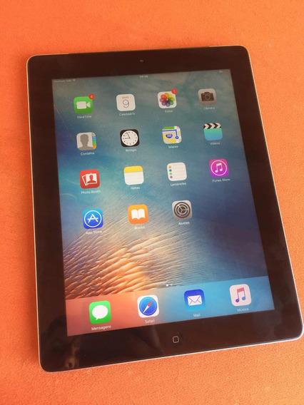 iPad 3 64gb 4g/wifi A1430 Carreg + Capa Couro Preta Original