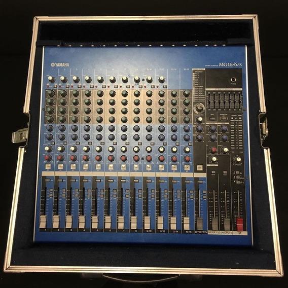 Yamaha Mg16/6 Fx + Case + 12 X Sem Juros - Envio Gratis