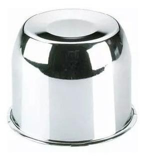 Copa Tapa Cromo Metal 12mm Diametro 12.5mm Altura