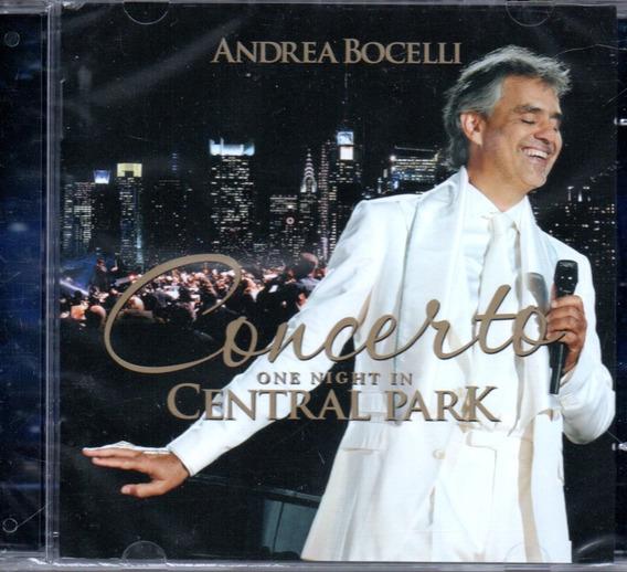 Cd Andrea Bocelli - Concerto One Night In Central Park