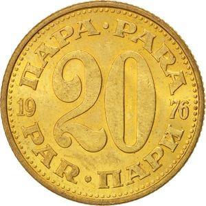 Yugoslavia Moneda De 10 Para Año 1977