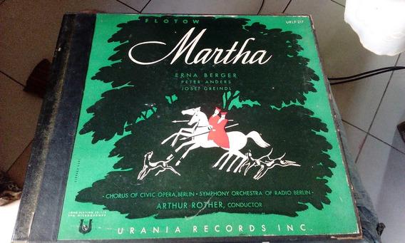 Box 3lps Urania A. R. Flotow Ópera Martha 1952