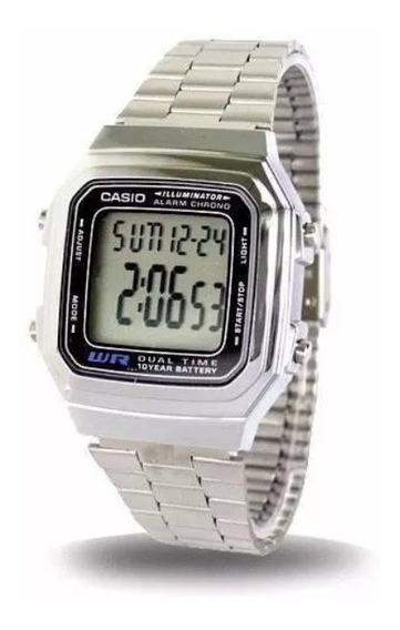 Relógio Casio A178 Prata 100% Original Vintage