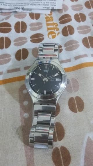 Relógio Swatch Em Aço - Original