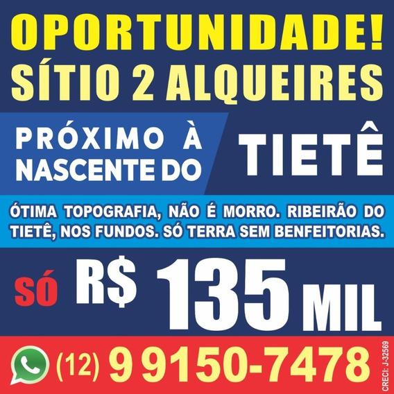 Sitio 2 Alqueires Com Ribeirão Do Tiete Nos Fundos ...