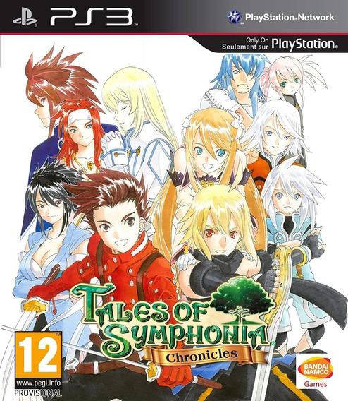 Tales Of Symphonia Chronicles Ps3 Midia Fisica Lacrado