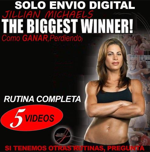 Jillian Michaels The Biggest Winner Fitness Con Pesas Step E
