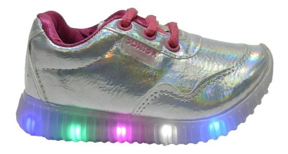 Zapatillas Con Luz Al Caminar Talles Del 22 Al 27 1987