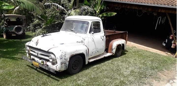 Pickup Ford F100 1955 Hotrod V8
