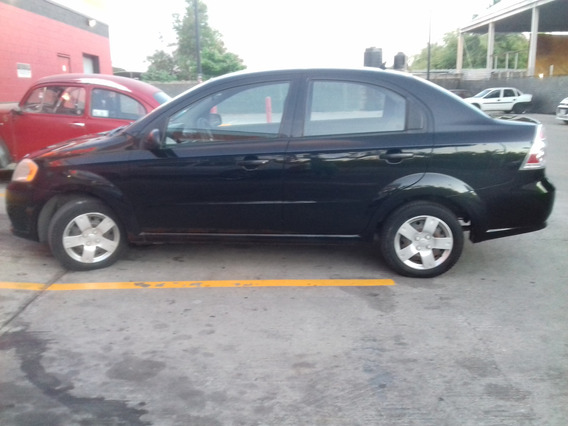 Chevrolet Aveo 2011,std, Negro, A/a. Impecable