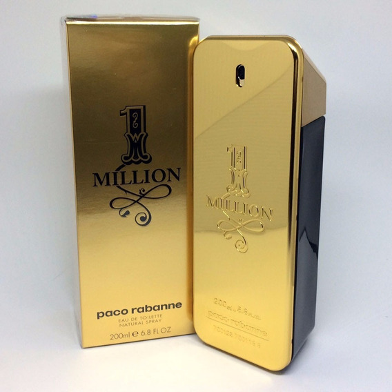 Perfume One Million Edt. 200ml - 100% Original Pronta Entreg