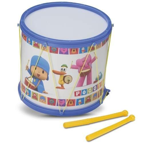 Tambor De Brinquedo Turma Do Pocoyo Azul Plástico Promoção !