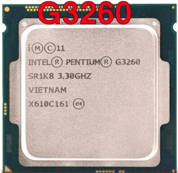 Processador Pentium G3260 1150 Melhor Q G3250 G3240 G3220