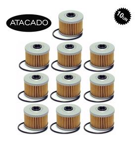 Kit 10 Filtro Oleo Quadriciclo Honda Fourtrax - Atacado
